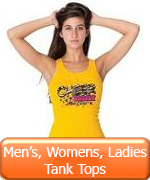 Men's, Women's, Ladies Tank Tops