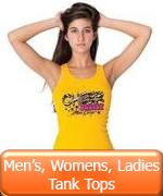 Men's, Women's, Ladies Tank Tops