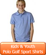 Kid's Youth Polo Golf Sport Shirts