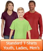 Youth Ladies Mens Standard T-shirts