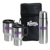 Stainless Steel Travel Mug and Thermos Gift Sets